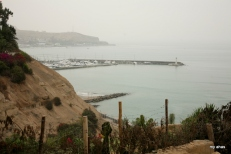 View of Pacific Ocean from La Posada Del Mirador