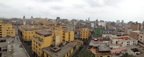 View from roof of La Iglesia de Santo Domingo Monastery